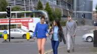 Walking to School video