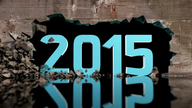 Wall breaking shows 2015 number video