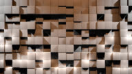 Wall of Cubes video