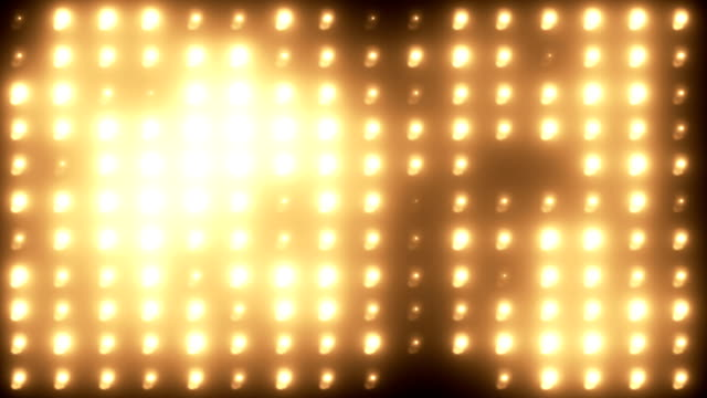 Wall of lights background video