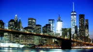 Wall st and One-world trade center video