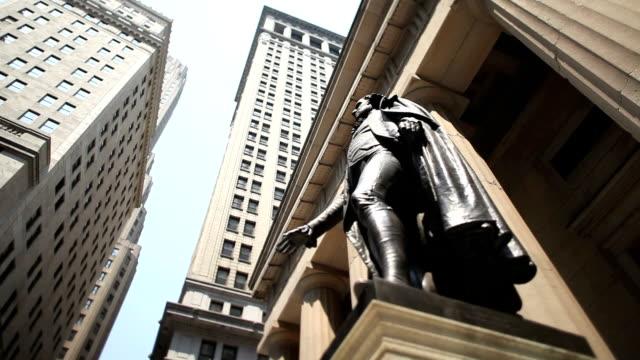 Wall Street, George Washington, NYC video