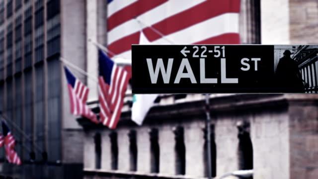 Wall Street New York City - video