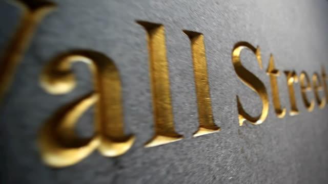 Wall Street, New York video