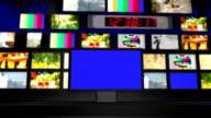 TV wall video