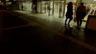 POV,Wallk around at night.Tokyo,Japan video