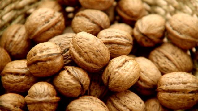 Walnuts - footage video