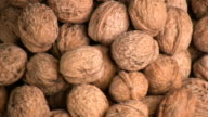 Walnuts. video