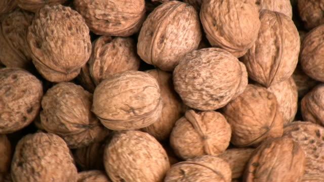 Walnuts. video