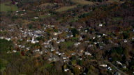 Walpole  - Aerial View - New Hampshire,  Cheshire County,  United States video