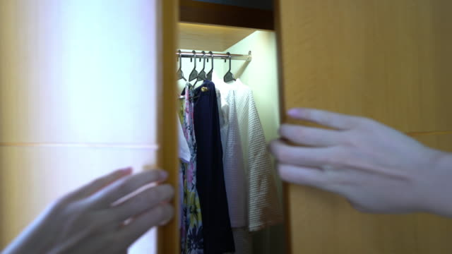 Wardrobe and Shirt selection video