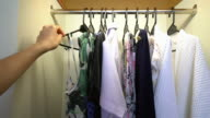 Wardrobe and Shirt selection video