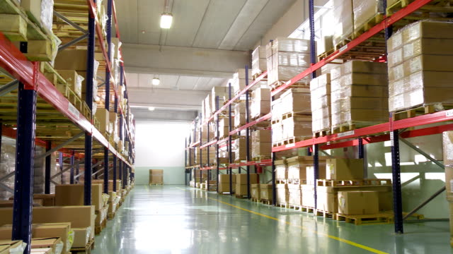 Warehouse Interior video