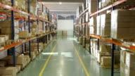 Warehouse Interior video