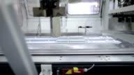 Warehouse machinery video