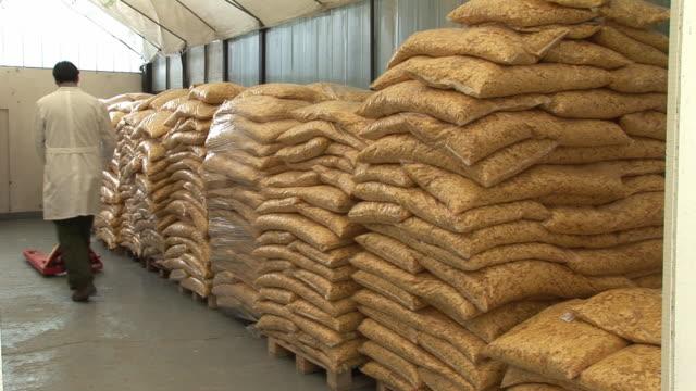 Warehouse storage video