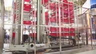 Warehousing equipment video