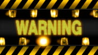 Warning - Industrial Barricade video
