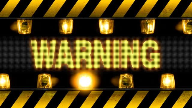 Warning - Industrial Barricade video