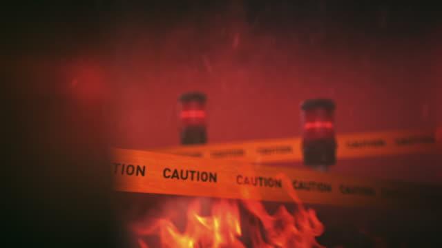 Warning sign video