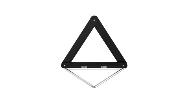 Warning triangle video