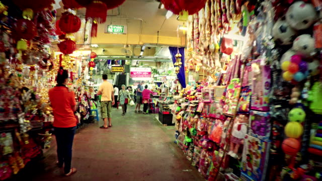 Warorot market in Chiang Mai Thailand video