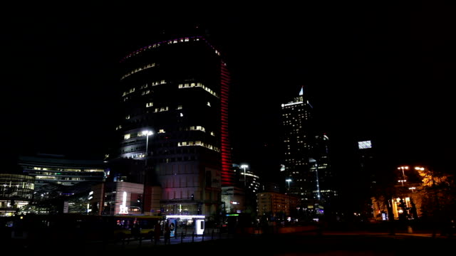 Warsaw Business District video