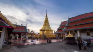 Was Phra That Hariphunchai in Lamphun Province, Thailand. video