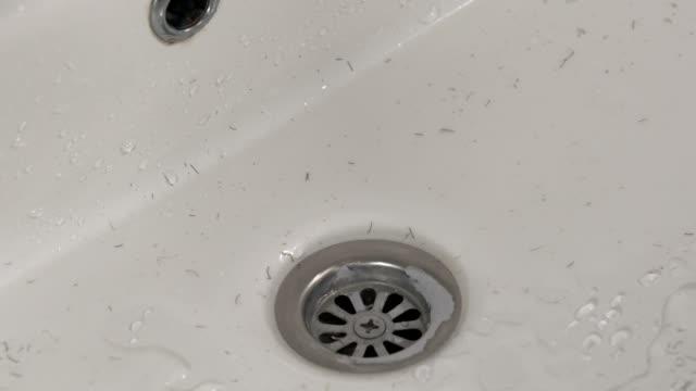 Wash off after shaving video