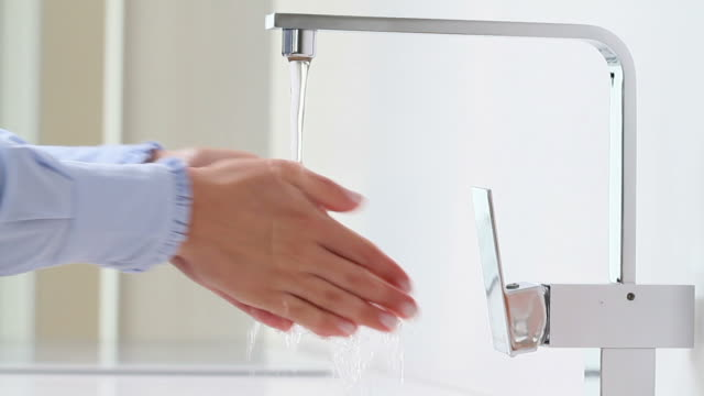 Washing hands video