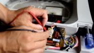 Washing machine repairman. video