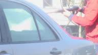 HD: Washing The Car video