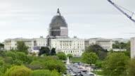 Washington DC Capitol Daytime Pan video