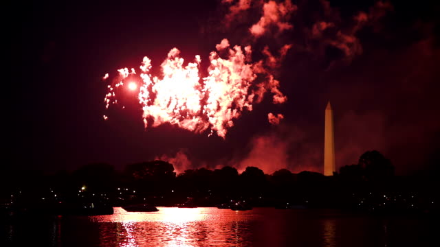 Washington DC Fireworks video