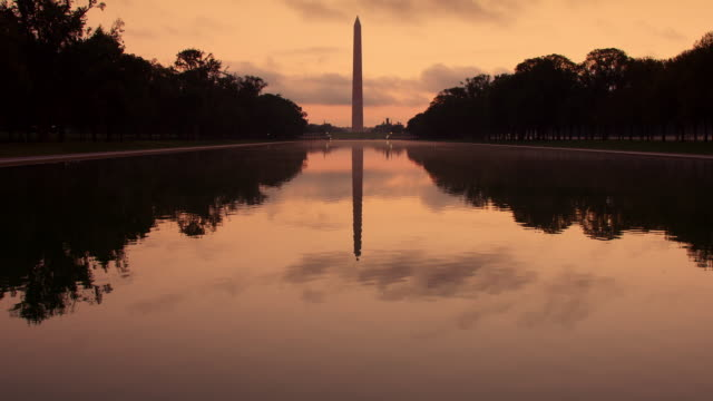 Washington D.C. National Mall at Dawn video