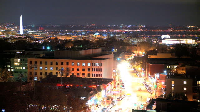 LOOP Washington DC Skyline by Night video