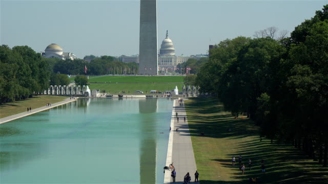 Washington Monument and Capitol Building video