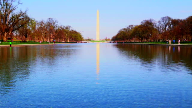 Washington Monument Reflecting Pool video