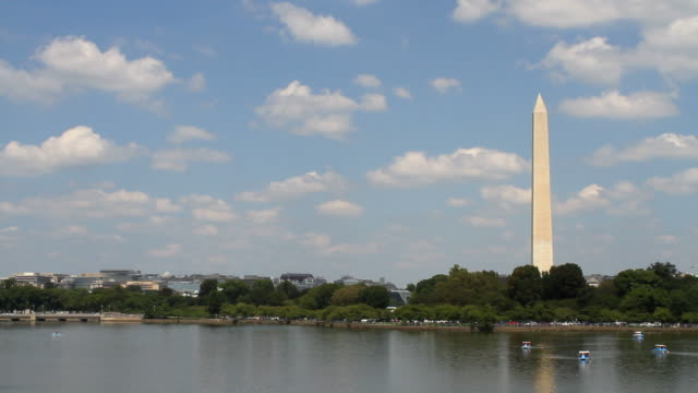 Washington Monument Skyline video