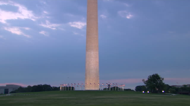 HD Washington Monument TiltUp_2 (1080/24P) video
