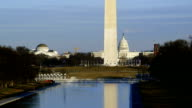 Washington Monument with U.S. Capital Building video