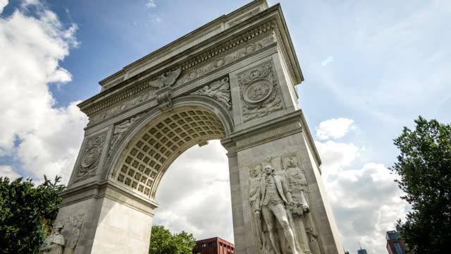 Washington Square Park Arch video
