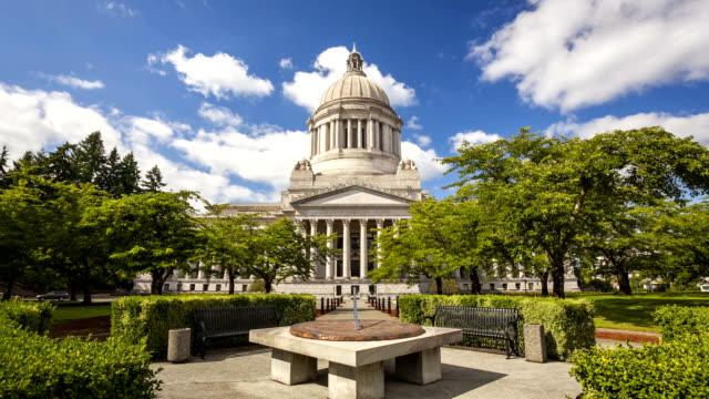 Washington State Capitol, Time Lapse video