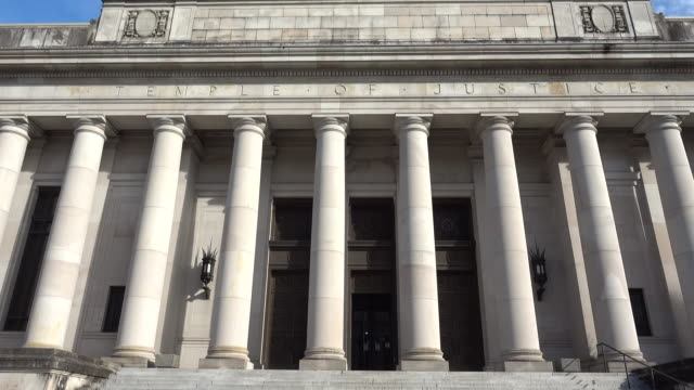 Washington State Temple of Justice Close Up video