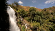 Washiratan waterfall in Doi Inthanon National Park, Thailand video