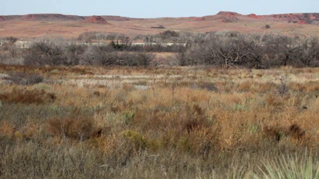 Washita Battlefield National Historic Site November Day Oklahoma video