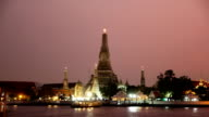 Wat Arun (Temple of Dawn) Time Lapse video