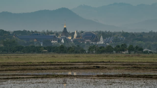 Wat Ban Den Temple in Mae Jaem Chiang mai Thailand video