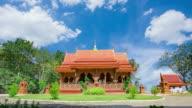 Wat Khao Cha wang architectural wood carvings, beautiful sights video