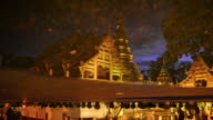 Wat Phra Singh Temple twilight time video